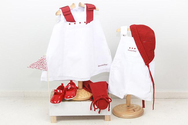 ropa en rojo