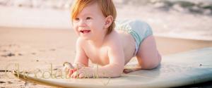 consejos playa con el bebé